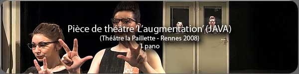 'L'augmentation' au Th��tre de la Paillette - Rennes