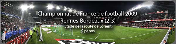 Championnat de France de Football Rennes-Bordeaux