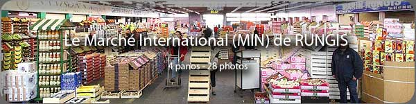 Le marché international de Rungis