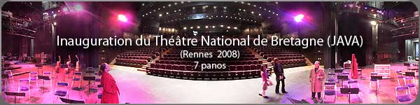 Inauguration du Th��tre National de Bretagne - Rennes 2008